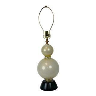 Vintage Modern Murano Table Lamp
