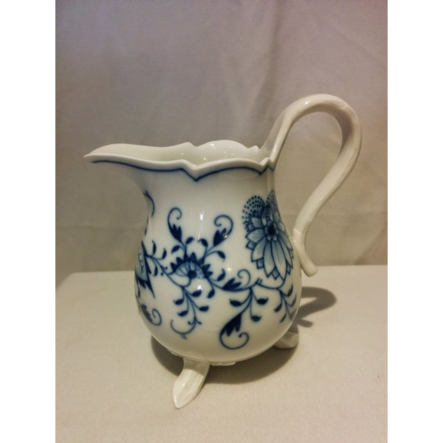 Meissen Blue Onion Cream & Sugar Set - Image 5 of 10
