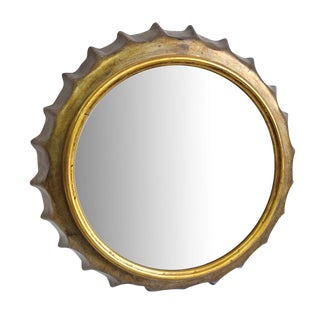 Bottle Cap Wall Mirror