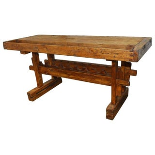 19th Century French Carpenter's Etabli Work Bench