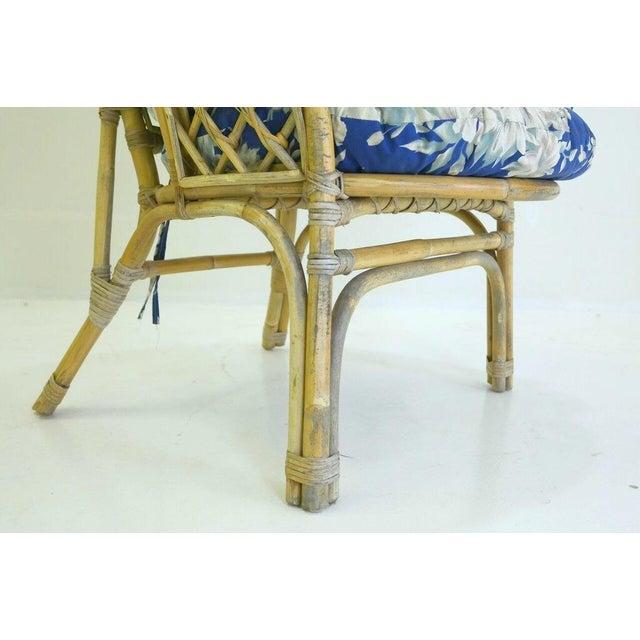 Mid-Century Danish Rattan Lounge Set - 3 - Image 7 of 10