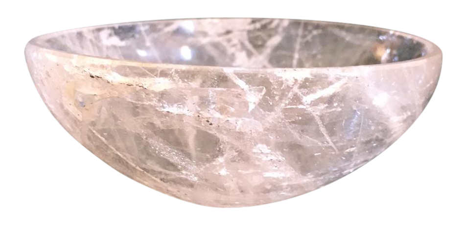 Small Decorative Rose Quartz Bowl Chairish