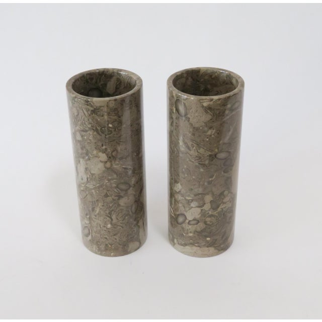 Image of Stone Vases - a Pair