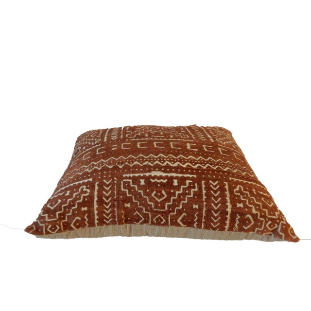 Malian Mud Cloth Pillow - Image 3 of 5
