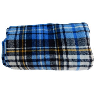 Blue Plaid Blanket