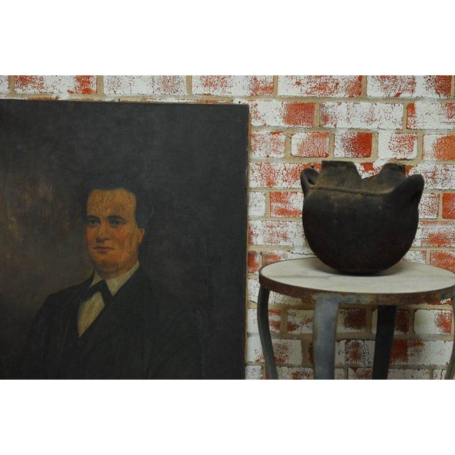 19th Century English Portrait of a Gentleman Oil on Canvas - Image 10 of 10