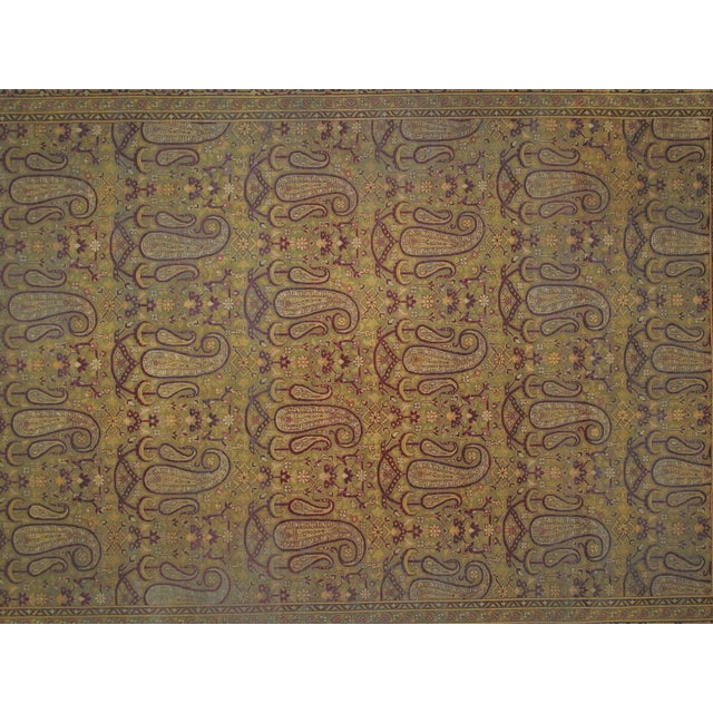 Leon Banilivi Antique Amritzar Carpet - 9' X 12' - Image 3 of 5
