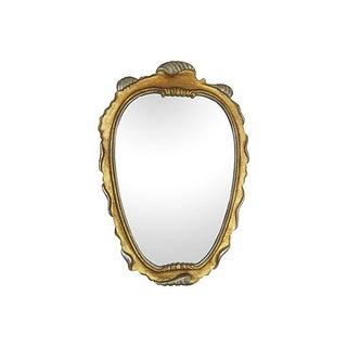 Carved Italian Giltwood Mirror