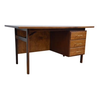 Jens Risom Executive Walnut Desk