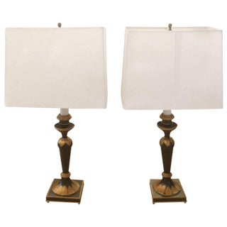 Regency Style Table Lamps - A Pair