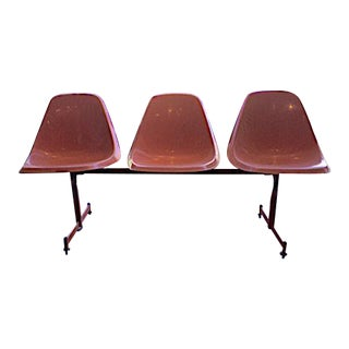 Vintage Bowling Alley Chairs Set