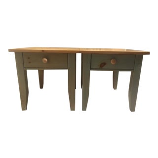 Broyhill Premier Collection Side Tables - A Pair