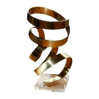 Dan Murphy Signed 1978 Ribbon Sculpture