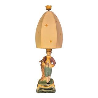 Child's Decorative Ceramic Lamp
