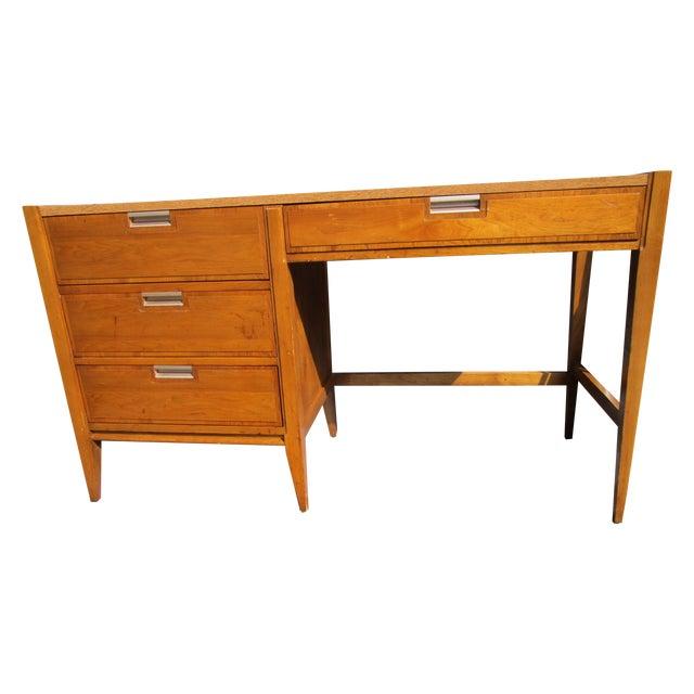 Basic Witz Mid Century Desk - Image 1 of 5