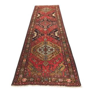 """Vintage Persian Karajeh Runner - 3'5"""" x 11'5"""""""
