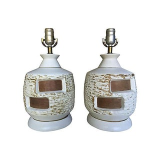 Mid-Century Danish Modern Lamps - A Pair