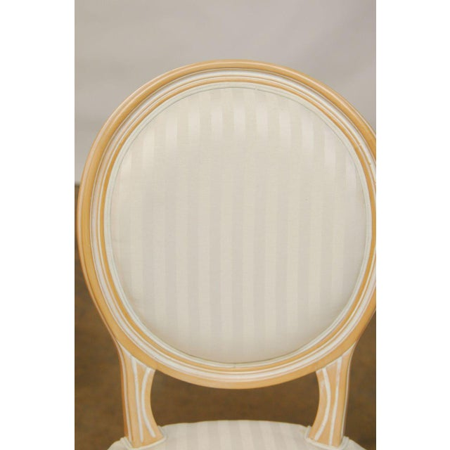Louis XVI Dining Chairs - Set of 4 - Image 7 of 9
