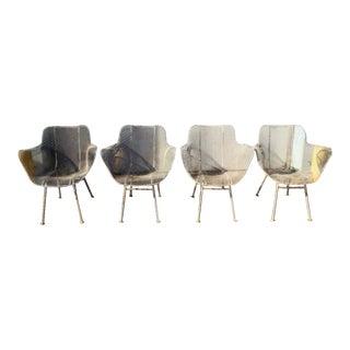 Russell Woodard Sculptura Chairs - Set of 4