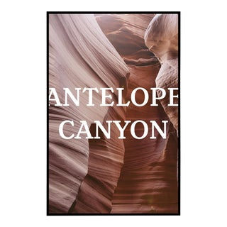 "Framed Original ""Antelope Canyon"" Photograph"