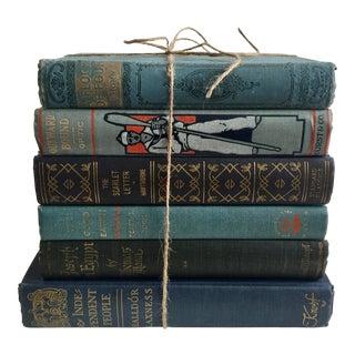 Blue Classic Novels - Set of 6