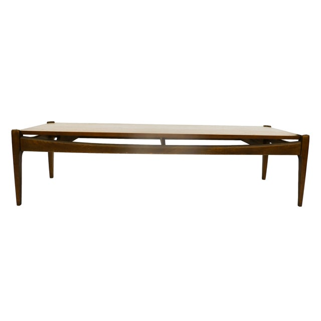 Bassett Mid-Century Modern Coffee Table - Image 6 of 10