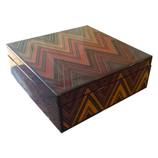 Missoni Lacquer Box - Chevron