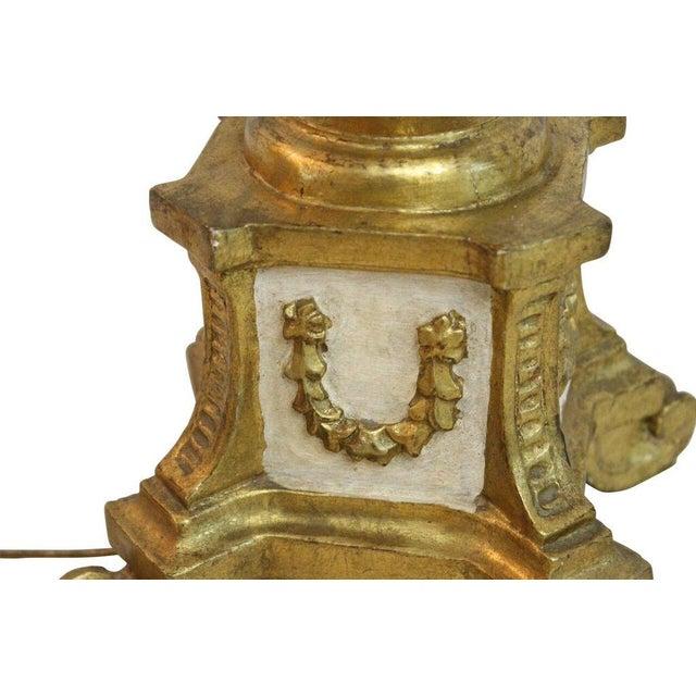 Italian Florentine Lamp - Image 4 of 5