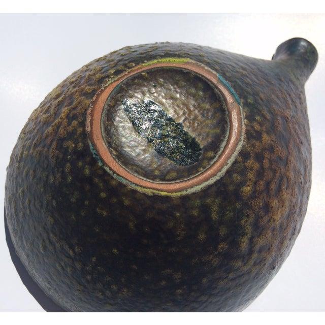 1960s Fantoni Gambone Italian Glaze Black Dish - Image 5 of 6