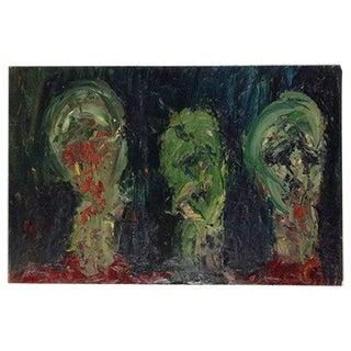 """""""Mob"""" Original Oil Painting"""