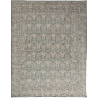 """Oushak Hand-Knotted Rug - 7'10"""" x 9'10"""""""