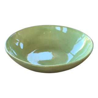 Soule Studio Large Melange Serving Bowl in Kiwi