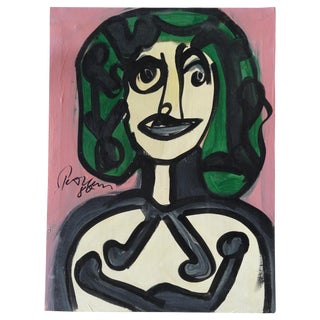 Modern Portrait of a Woman by Keil, Picasso Style