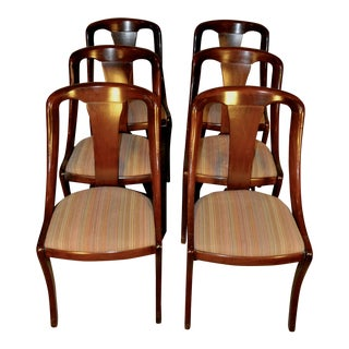Mahogany Dining Chairs - Set of 6
