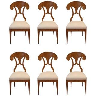 Biedermeier Dining Chairs - Set of 6