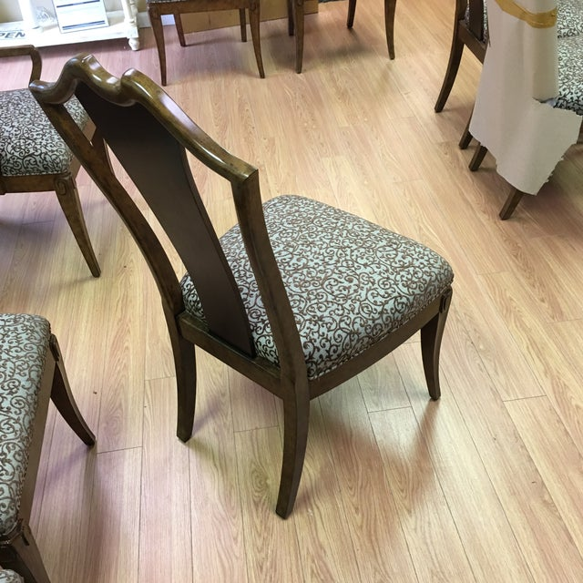 Image of Henredon Frame Dining Chairs - Set of 8
