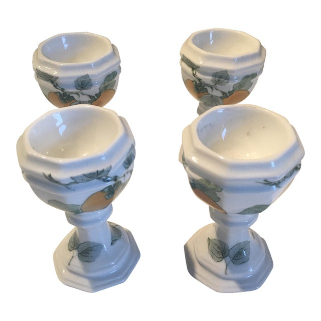 Vintage Villeroy And Boch Egg Cups Set Of 4 Chairish