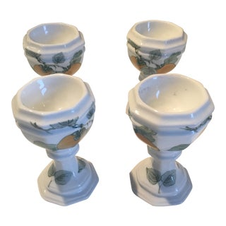 Vintage Villeroy and Boch Egg Cups - Set of 4