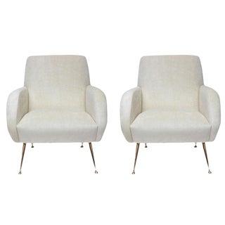 "Stripe's Own Custom ""Roma"" Chairs"