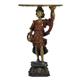 18th Century Italian Baroque Figurative Console Table
