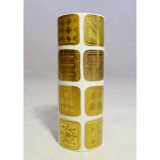Bjorn Wiinblad Vintage Gold Vases - A Pair - Image 5 of 7