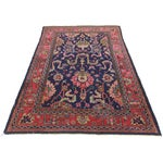 Image of RugsinDallas Vintage Wool Turkish Sparta Oushak Rug - 5′10″ × 8′10″