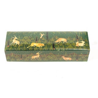Decorative Painted Pencil Box