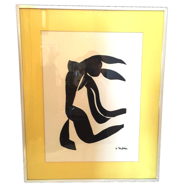 Image of Henri Matisse Black and White Print