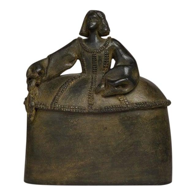 Image of Spanish Bronze by Pilar Gomez Francos Titled Menina