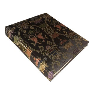 Chinese Chic Shanghai Tang Silk Photo Album Brocade Cover