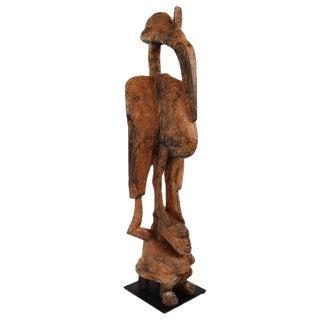 Senufo Wooden Hornbill Statue