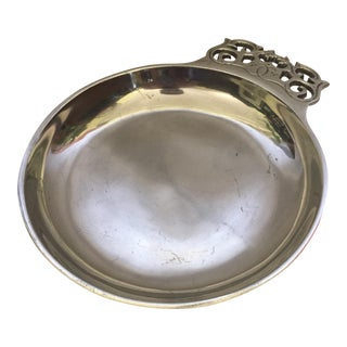 Vintage Nambe Metal Porringer Bowl