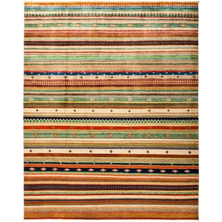"""Lori Hand Knotted Area Rug - 8'1"""" X 10'0"""""""
