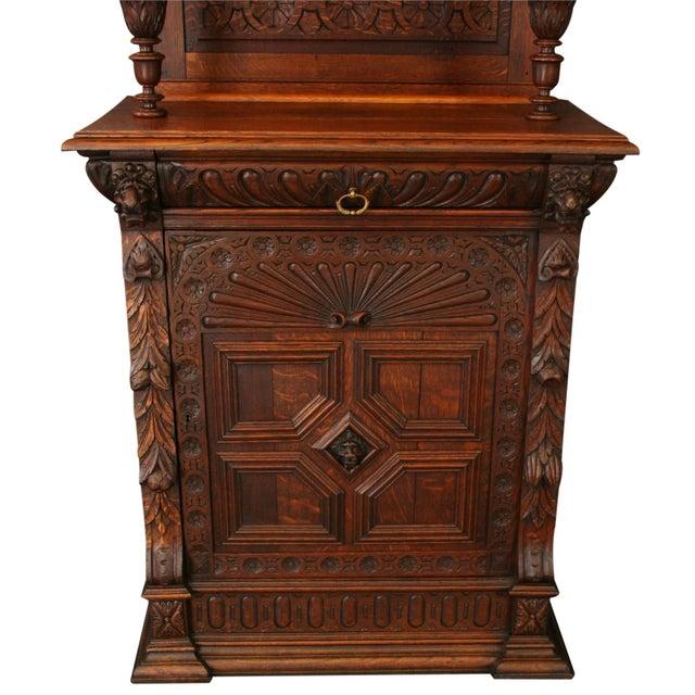 antique buffet 1900 petite mechelen style chairish. Black Bedroom Furniture Sets. Home Design Ideas